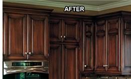 Frisco cabinet refinishing