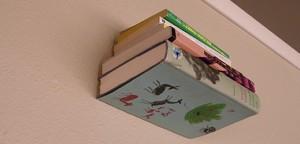 Make your own Floating Bookshelves!